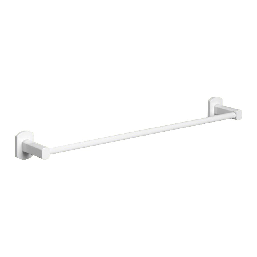 Nameeks Edera White Single Towel Bar (Common: 17-in; Actual: 17.9-in)
