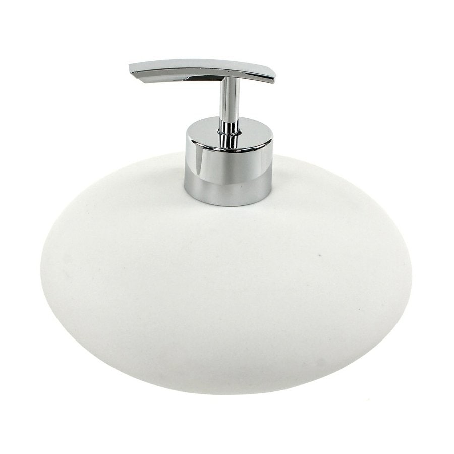Nameeks Fiona White Soap and Lotion Dispenser