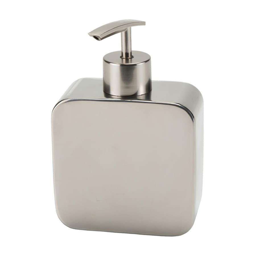 Nameeks Polaris Chrome Soap and Lotion Dispenser