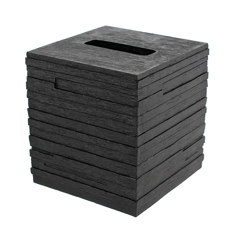 Nameeks Quadrotto Black Plastic Tissue Holder