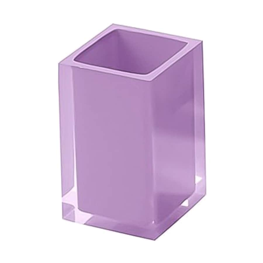 Nameeks Rainbow Lilac Plastic Toothbrush Holder