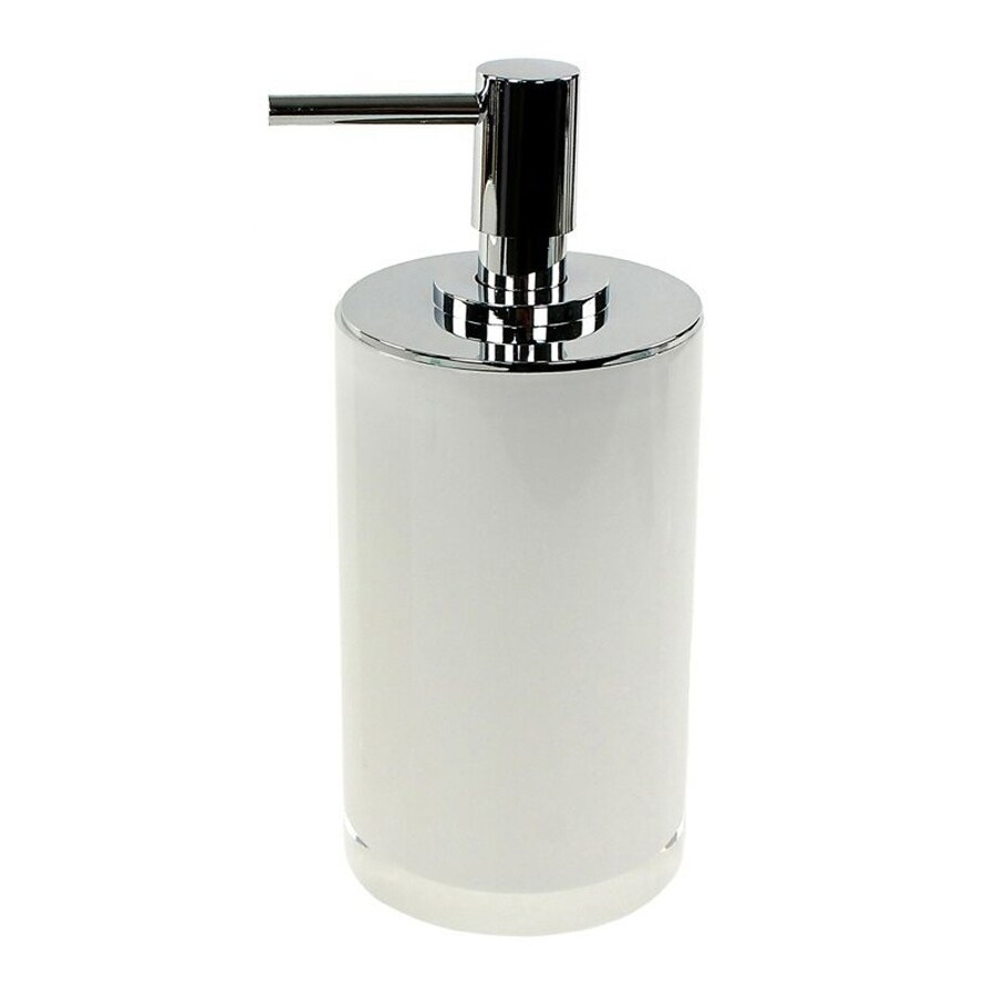 Nameeks Piccollo White Soap and Lotion Dispenser