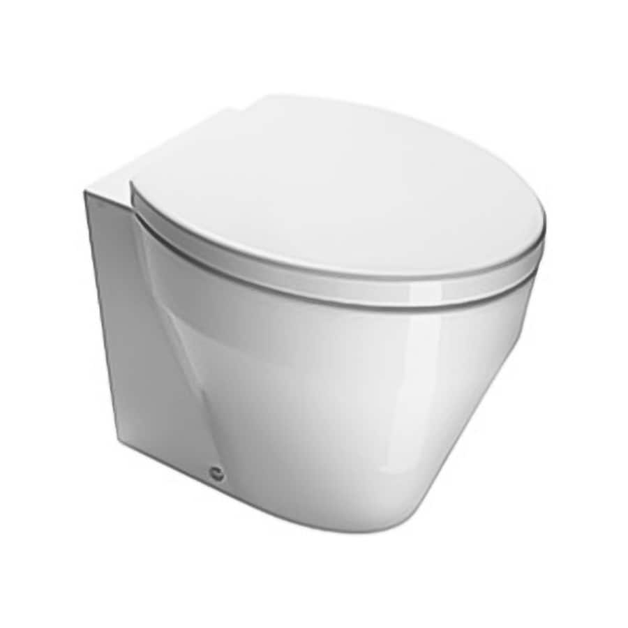 Nameeks Losagna White Elongated Standard Height Toilet Bowl