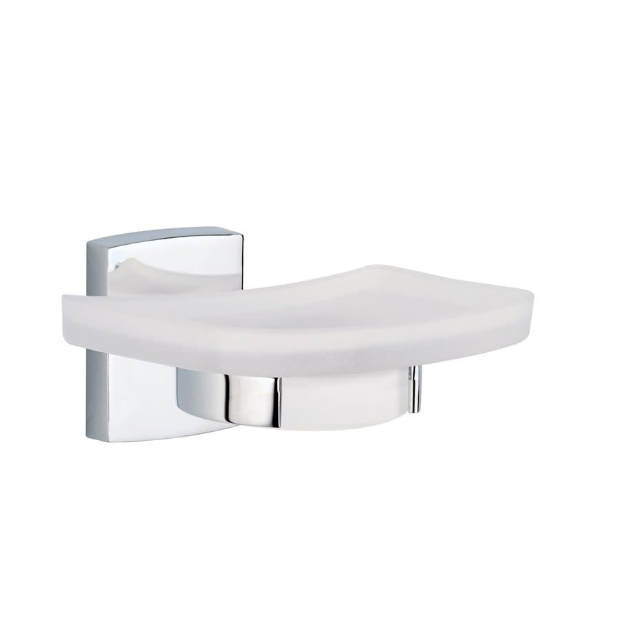 No Drilling Required Klaam Chrome-Plated Zinc Soap Dish