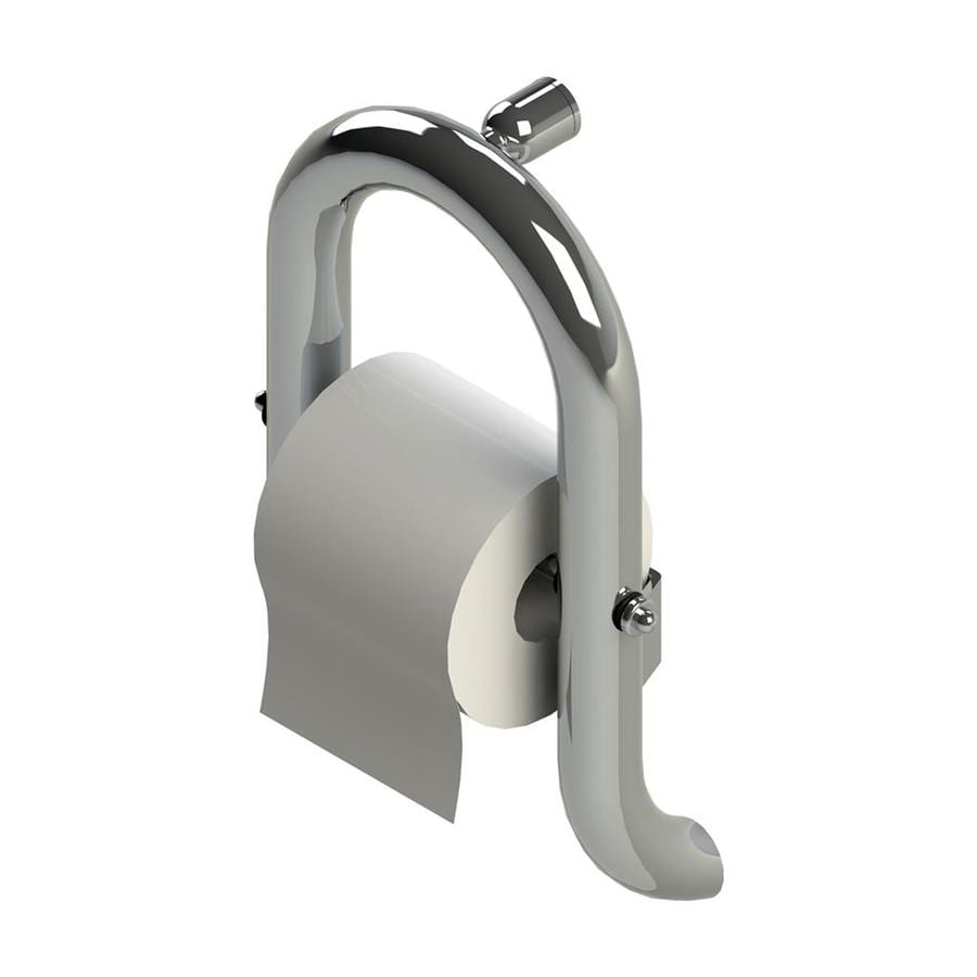 Health Craft Invisia™ Bright Polished Chrome Surface Mount Toilet Paper Holder