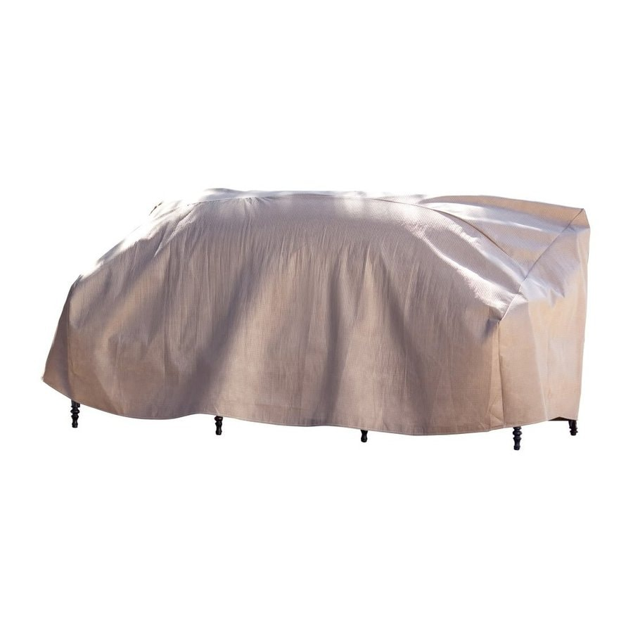 Duck Covers Cappuccino Polypropylene Sofa Cover