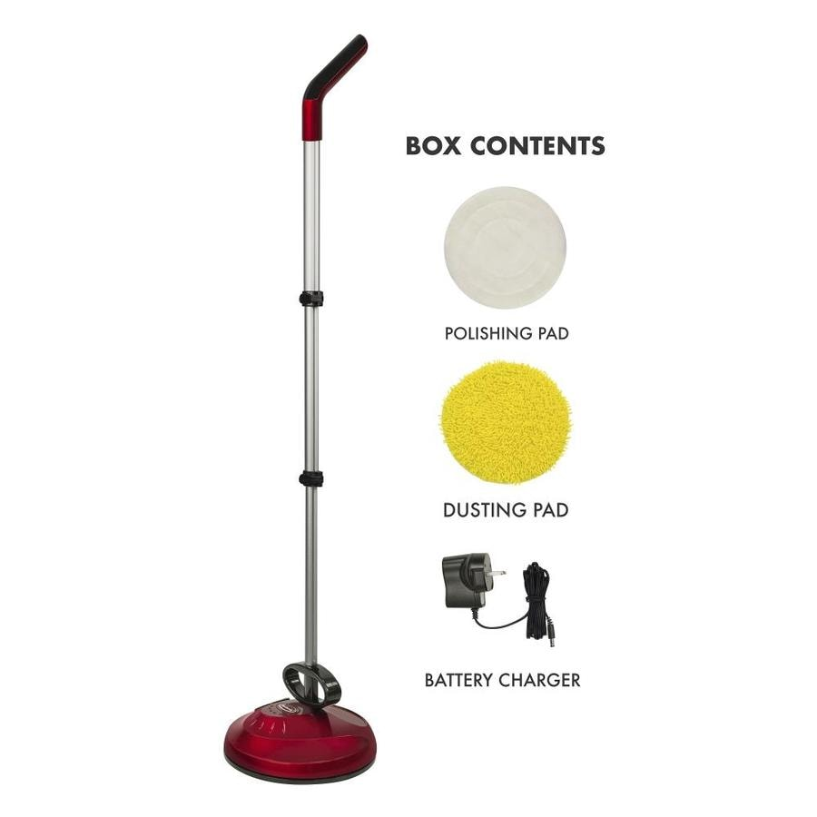 Ewbank Cha-Cha 2 Upright and Handheld Cordless Duster Buffer 13-in Rotary Floor Polisher