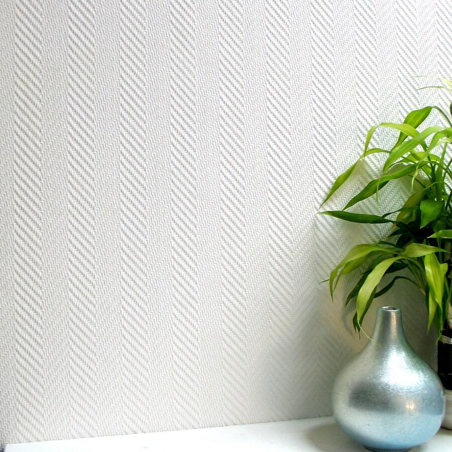Brewster Wallcovering Anaglypta X Paintable Vinyl Paintable Textured Brushstroke 3-D Wallpaper