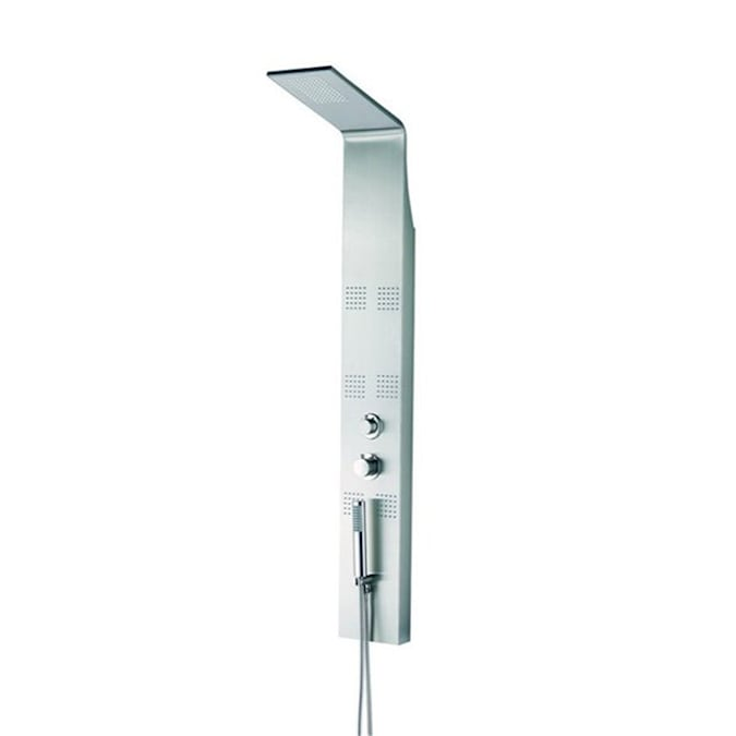 Nameeks Superinox 3 Way Chrome Shower Panel System In The Shower Systems Department At Lowes Com