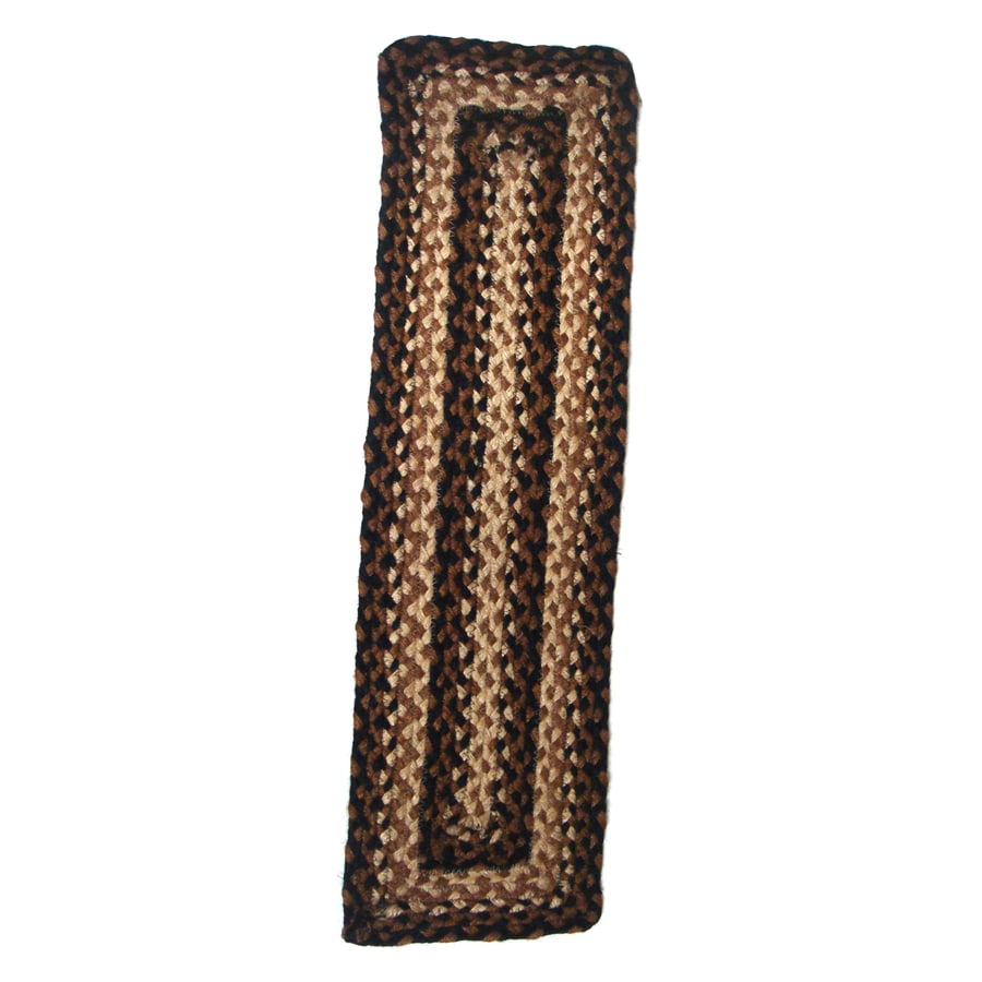 IHF Brown Rectangular Stair Tread Mat (Common:; Actual: 8-in x 28-in)