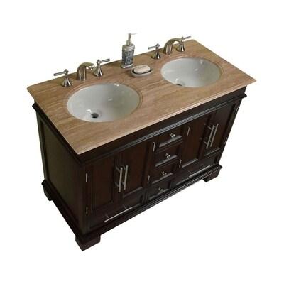 Ancerre Designs Audrey 60 In Sapphire Gray Double Sink Bathroom