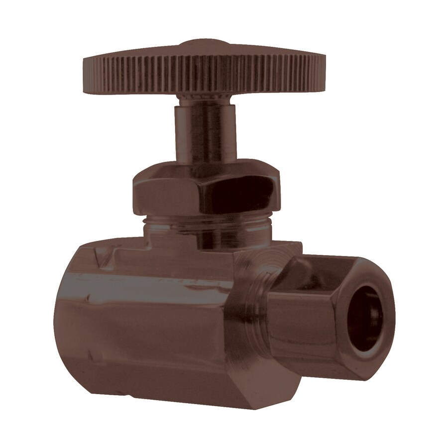 Westbrass Oil-Rubbed Bronze Straight Valve