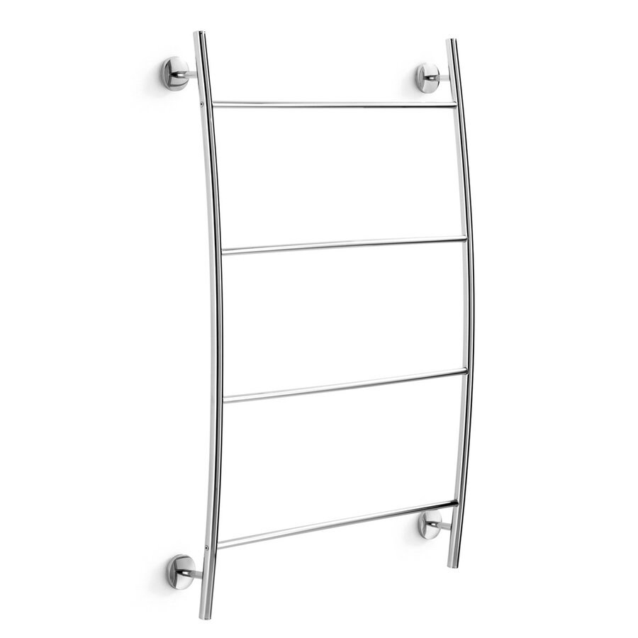 WS Bath Collections Noanta Polished Chrome Rack Towel Bar (Common: 25-In; Actual: 25.2-In)