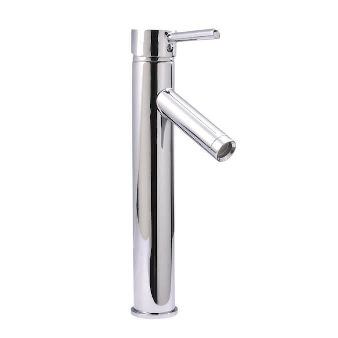 Virtu Usa Chrome 1 Handle Vessel Bathroom Faucet In The Bathroom Sink Faucets Department At Lowes Com