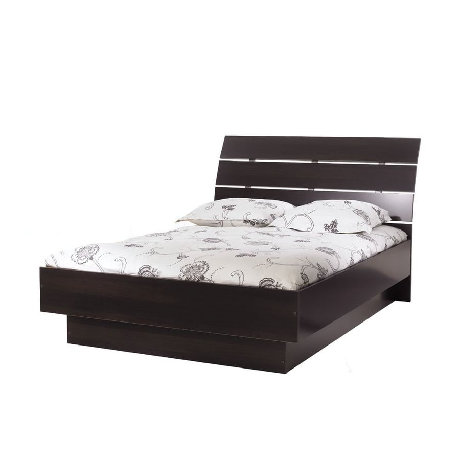 shop tvilum scottsdale coffee full platform bed at lowes