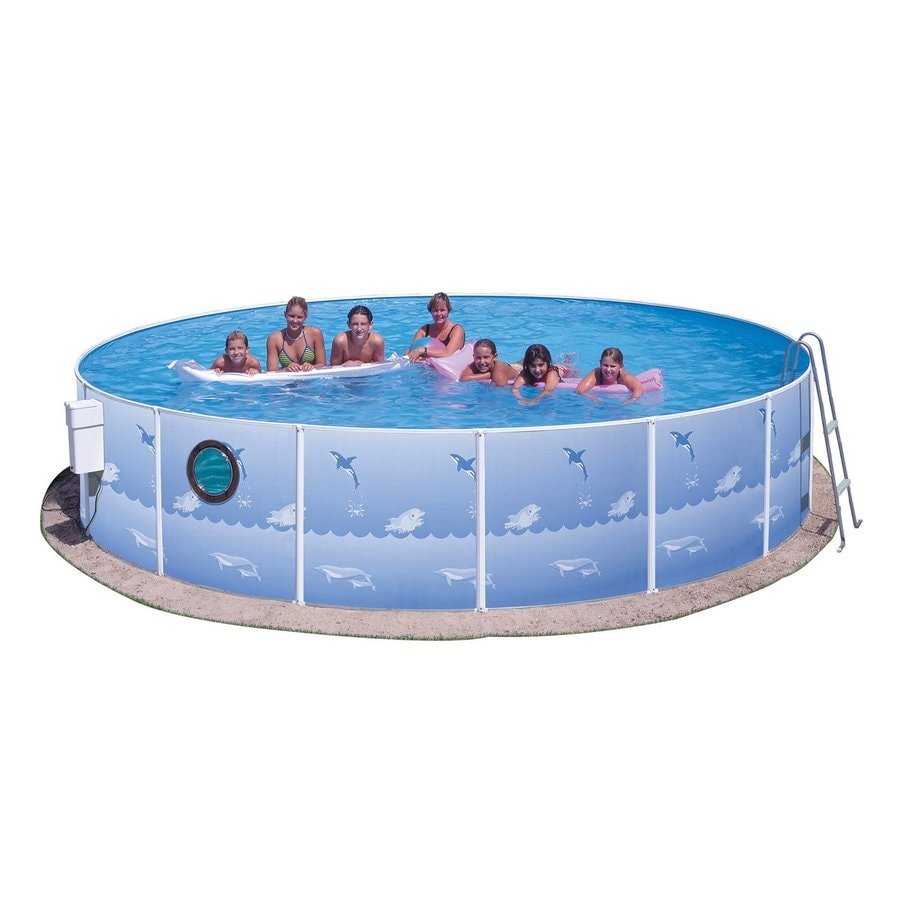 Splash Pools 12-ft x 12-ft x 36-in Round Above-Ground Pool