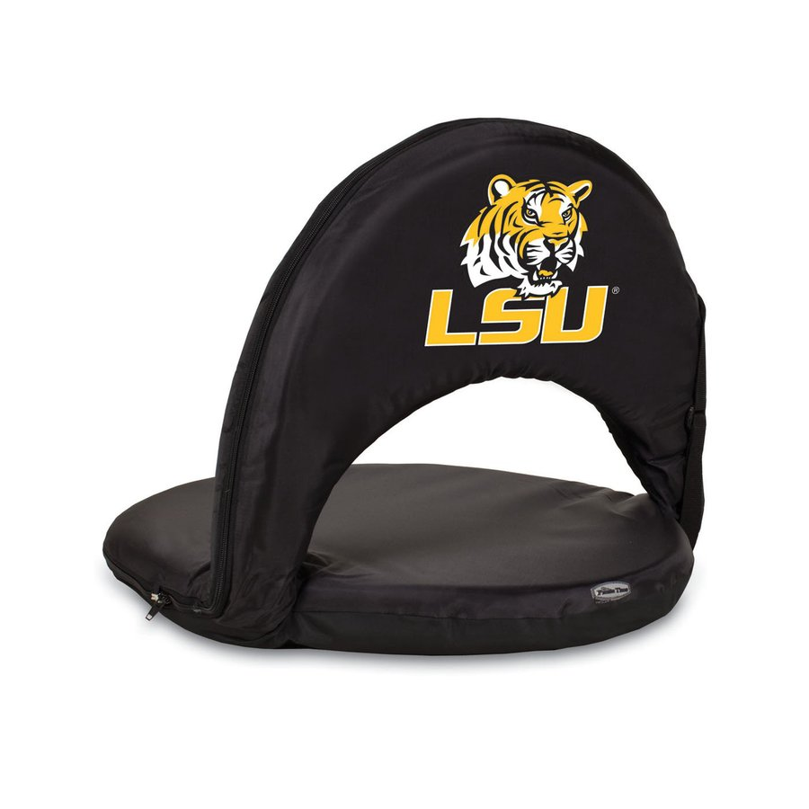 Picnic Time Indoor/Outdoor Steel Louisiana State University Tigers Bleacher Folding Chair