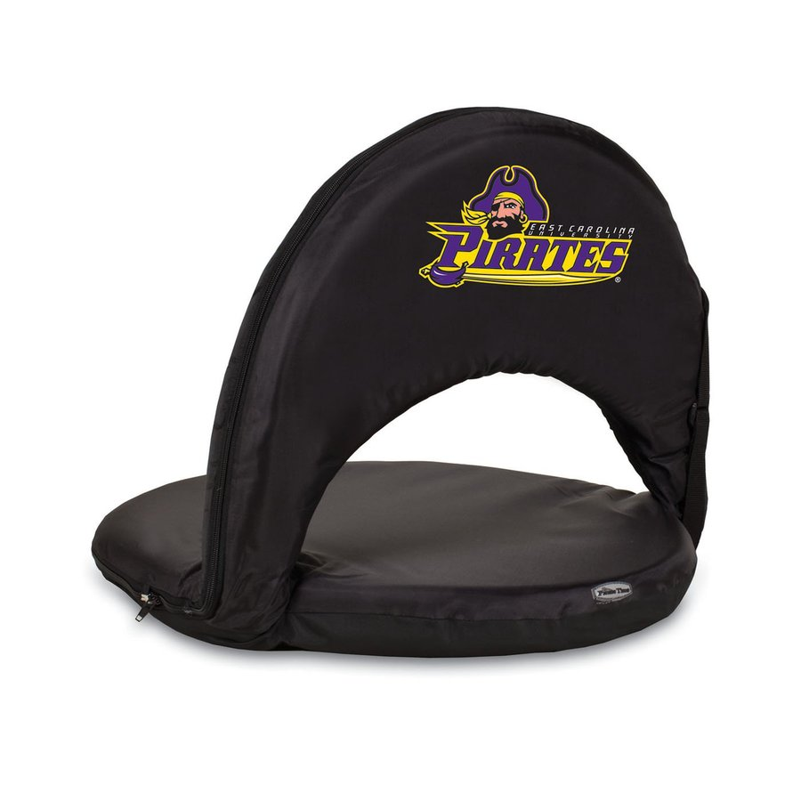 Picnic Time Indoor/Outdoor Steel East Carolina University Pirates Bleacher Folding Chair