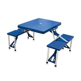 Shop Picnic Tables At Lowescom - Folding picnic table bench seat combination