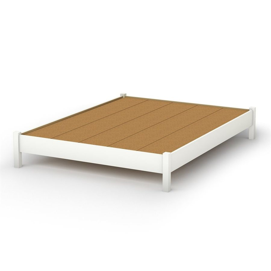 South Shore Furniture Step One Pure White Twin Platform Bed