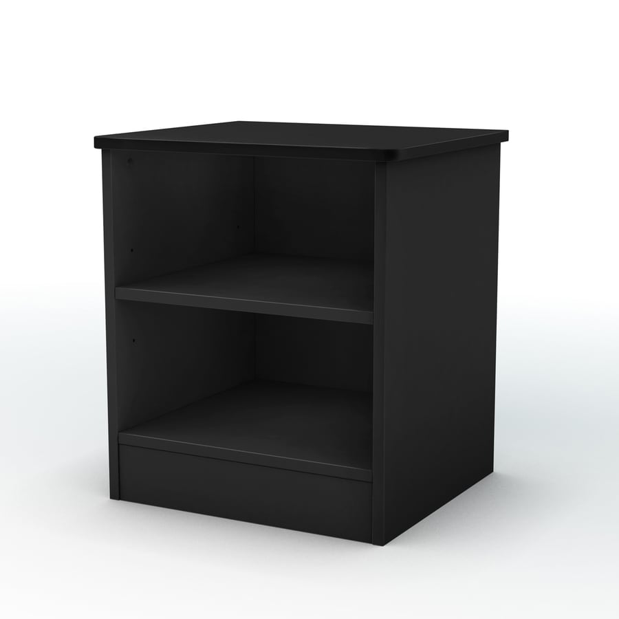 South Shore Furniture Libra Pure Black Nightstand