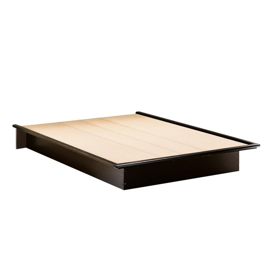 South Shore Furniture Step One Pure Black Platform Bed