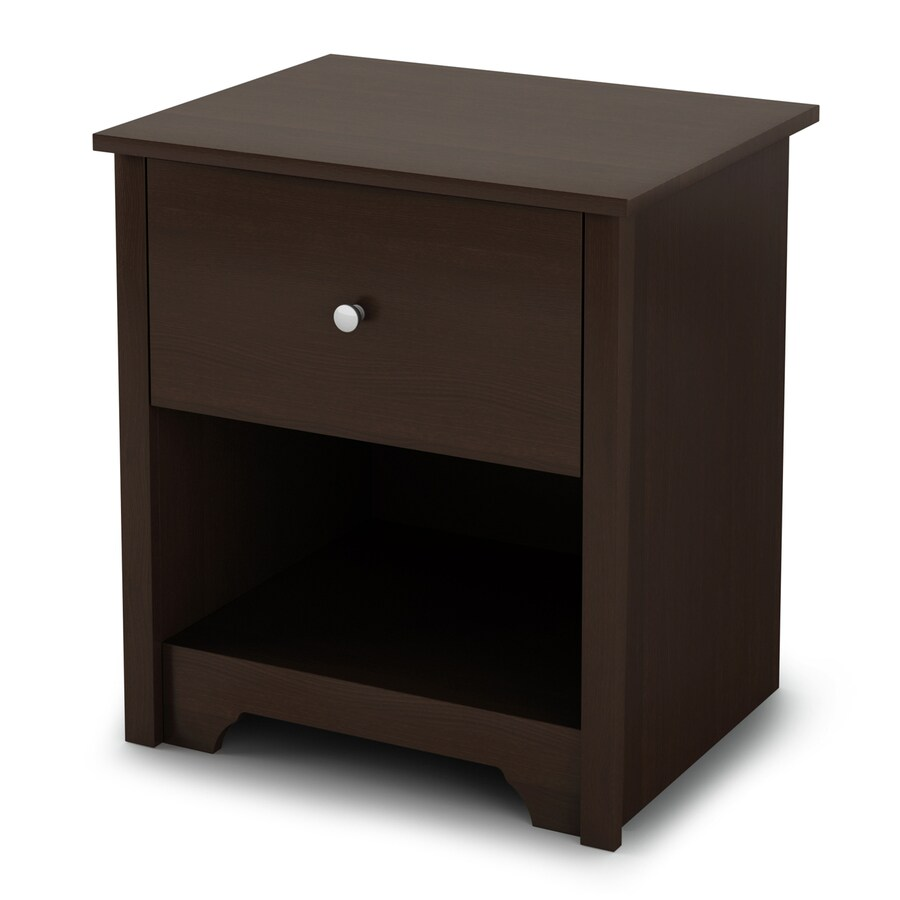 South Shore Furniture Vito Chocolate Nightstand