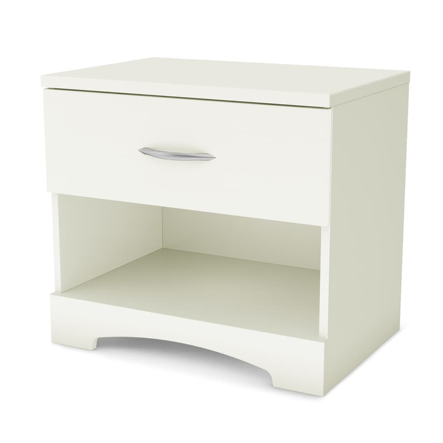 South Shore Furniture Step One Pure White Nightstand
