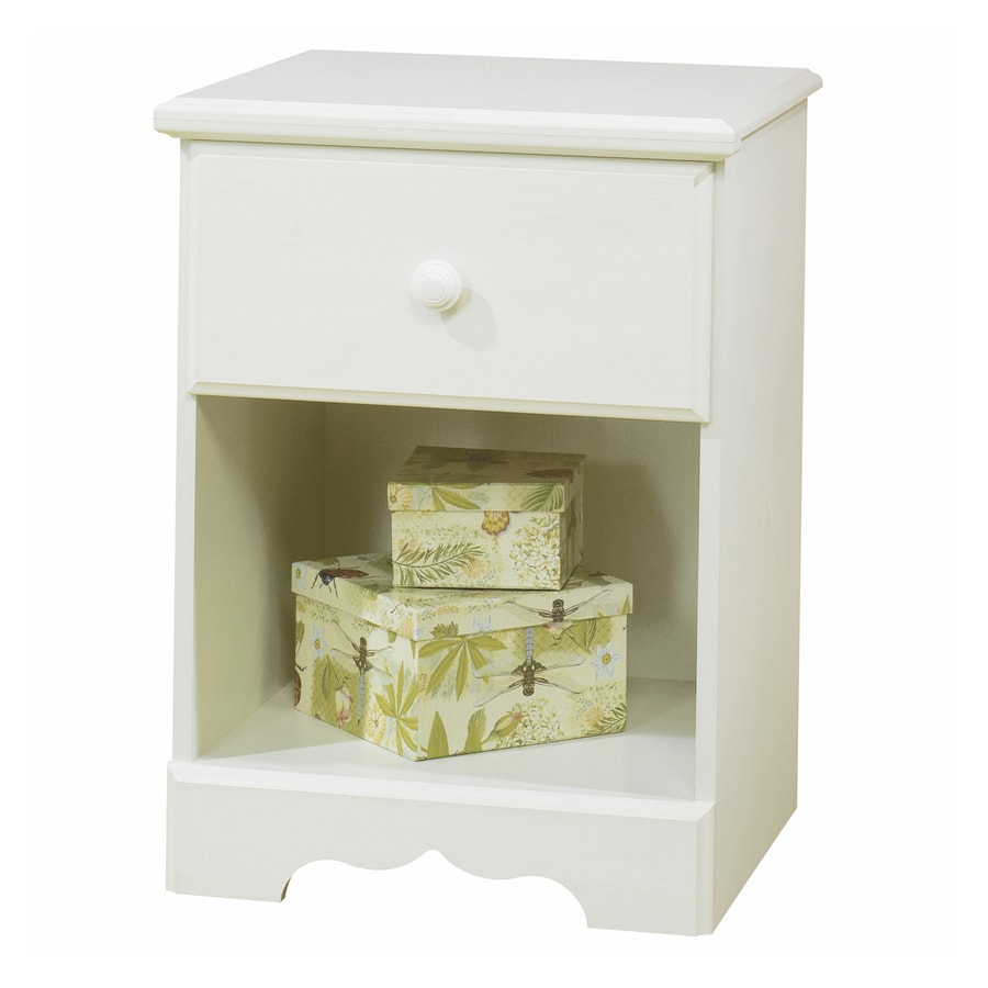 South Shore Furniture Summer Breeze Vanilla Cream Nightstand