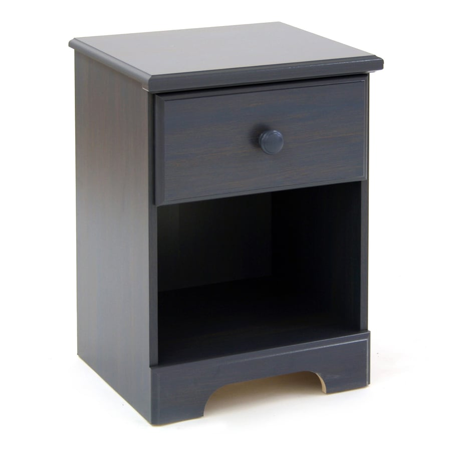 South Shore Furniture Summer Breeze Blueberry Nightstand