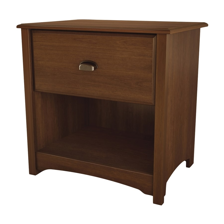 South Shore Furniture Willow Sumptuous Cherry Nightstand