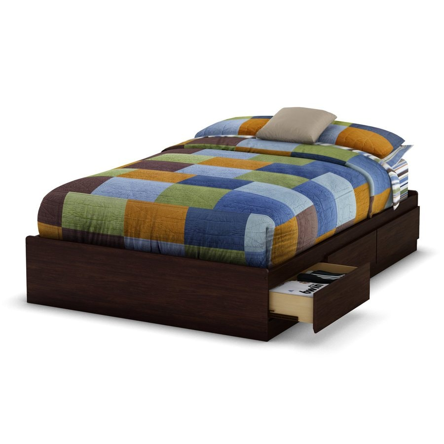 South Shore Furniture Havana Full Platform Bed with Storage