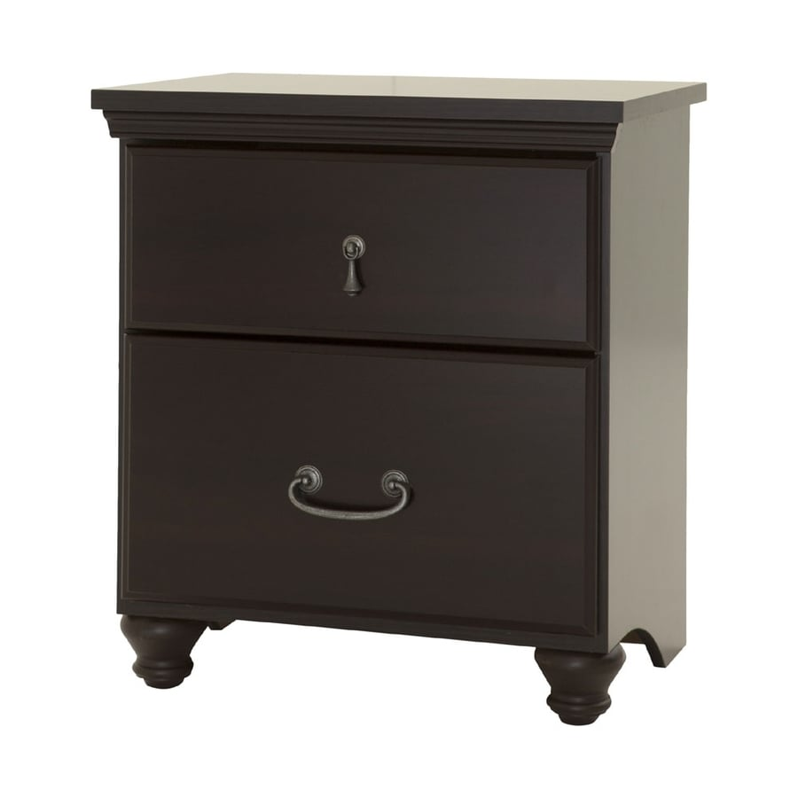 South Shore Furniture Noble Dark Mahogany Nightstand