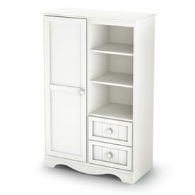 South Shore Furniture Savannah Pure White Armoire