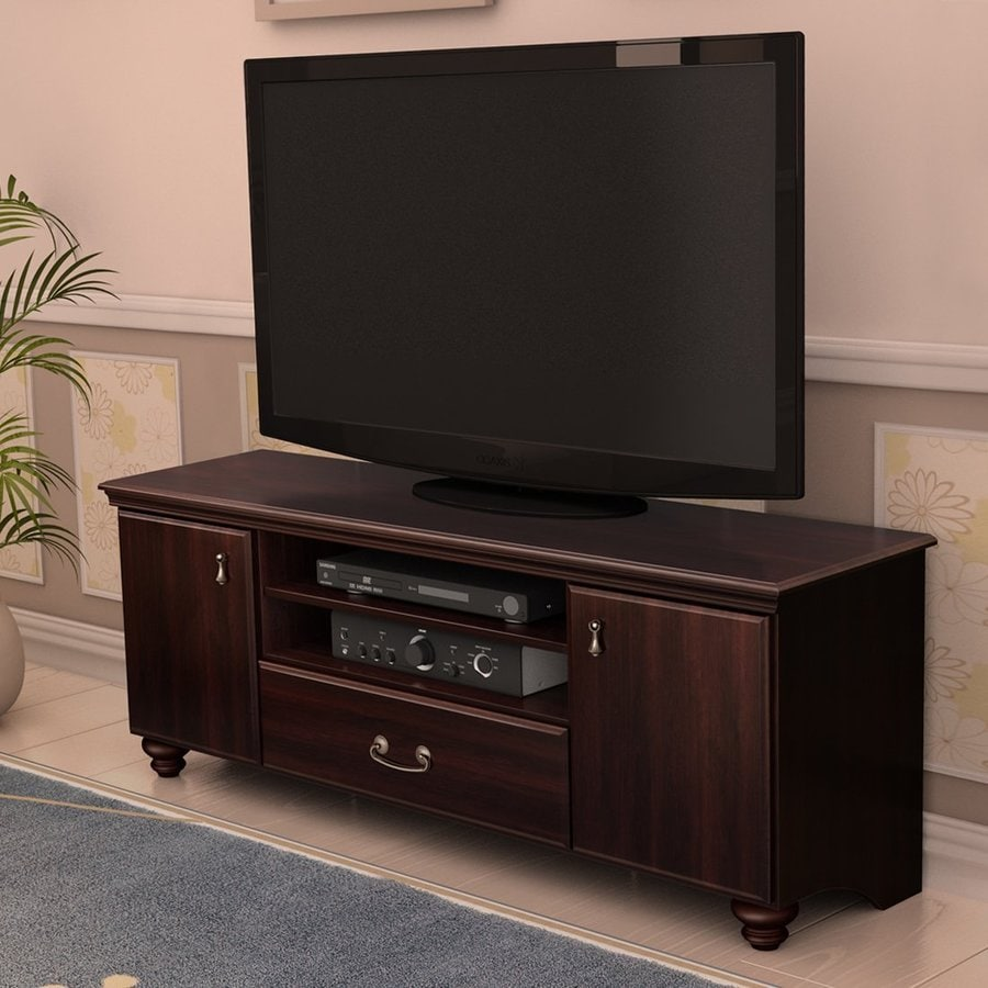 South Shore Furniture Noble Dark Mahogany Rectangular TV Cabinet