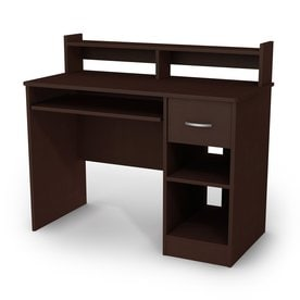 South S Furniture A Contemporary Chocolate Computer Desk