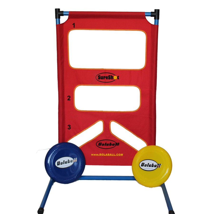 Bolaball Sure Shot Outdoor Flying Disc Party Game with Case