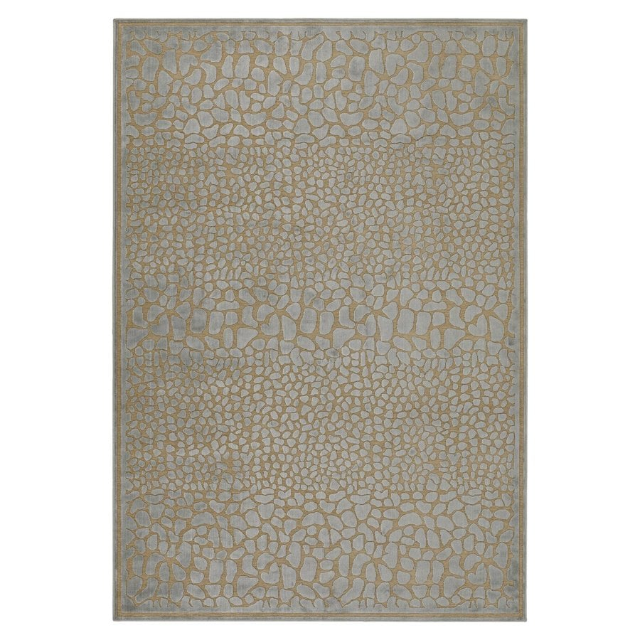 Surya Basilica Cumin Rectangular Indoor Machine-Made Area Rug (Common: 5-ft x 8-ft; Actual: 5-ft 2-in W x 7-ft 6-in L)