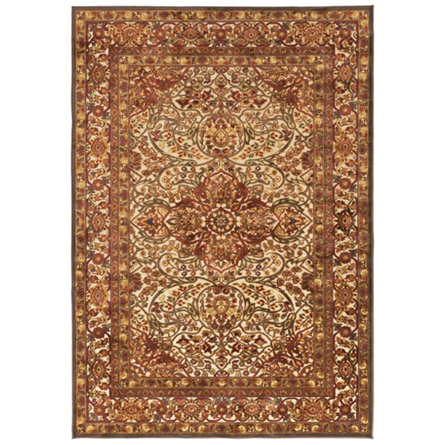 Surya Basilica Gray Rectangular Indoor Machine-Made Oriental Area Rug (Common: 8-ft x 11-ft; Actual: 7-ft 6-in W x 10-ft 6-in L)