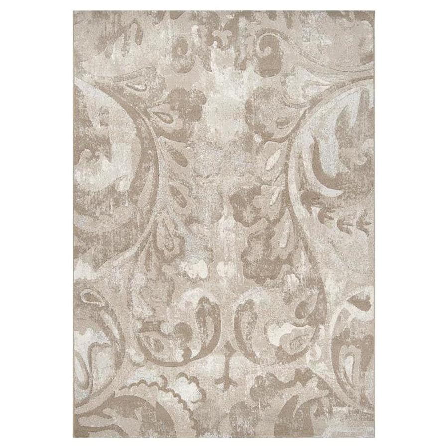 Surya Contempo Rectangular Indoor Machine-Made Nature Area Rug (Common: 5 x 8; Actual: 5.25-ft W x 7.5-ft L)