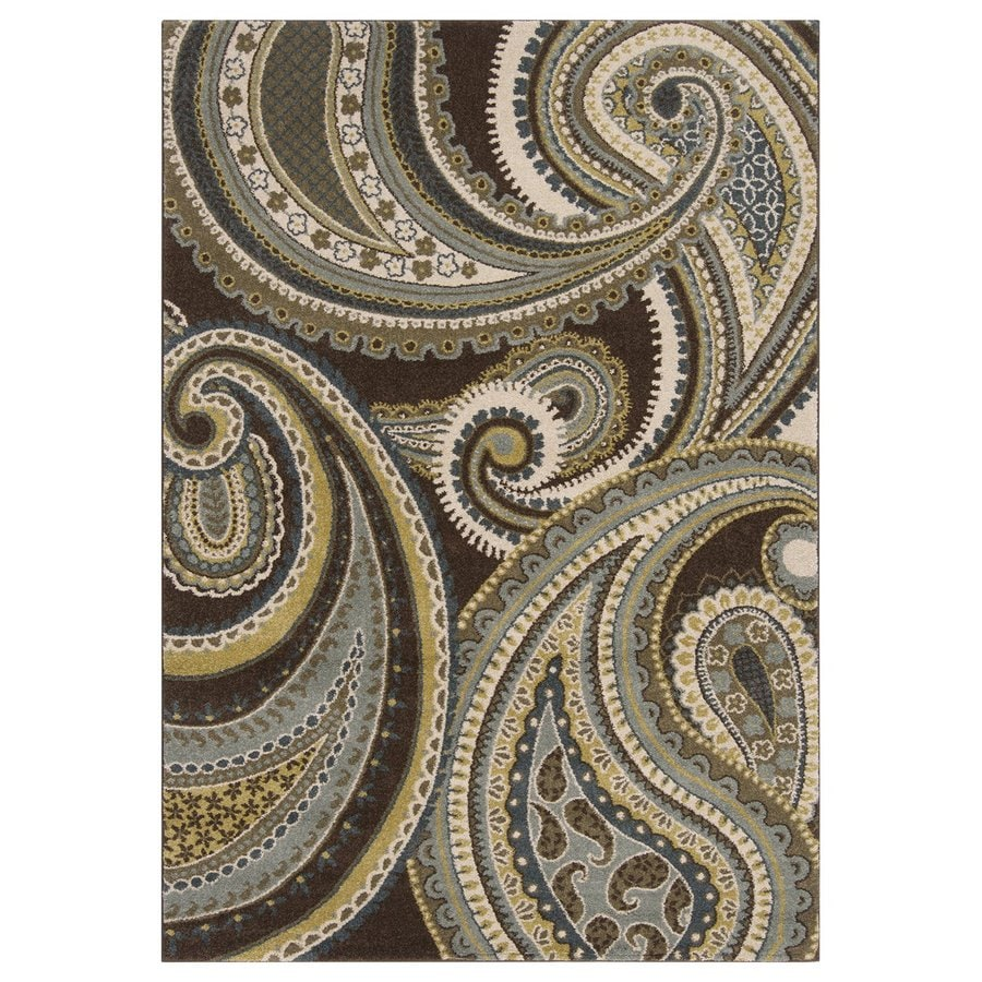 Surya Monterey Rectangular Indoor Machine-Made Area Rug (Common: 5 x 8; Actual: 5.25-ft W x 7.5-ft L)