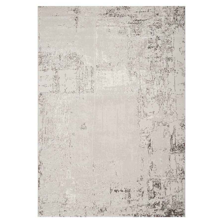 Surya Nuage Rectangular Indoor Machine-Made Distressed Area Rug (Common: 5 x 7; Actual: 5.25-ft W x 7.25-ft L)