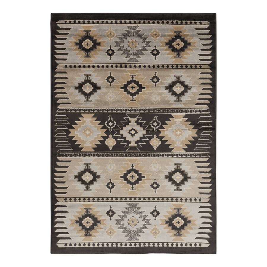 Surya Paramount Rectangular Indoor Machine-Made Southwestern Area Rug (Common: 5 x 8; Actual: 5.25-ft W x 7.5-ft L)