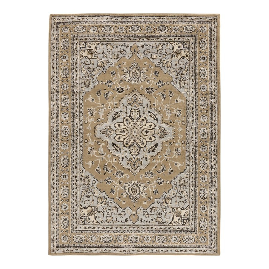 Surya Paramount Rectangular Indoor Machine-Made Oriental Area Rug (Common: 8-ft x 11-ft; Actual: 7-ft 9-in W x 11-ft 2-in L)