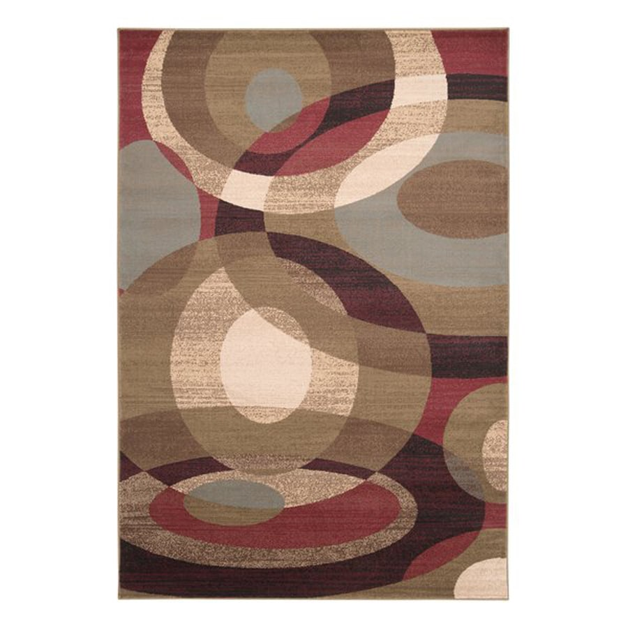 Surya Riley Rectangular Indoor Machine-Made Area Rug (Common: 5 x 8; Actual: 5.25-ft W x 7.5-ft L)