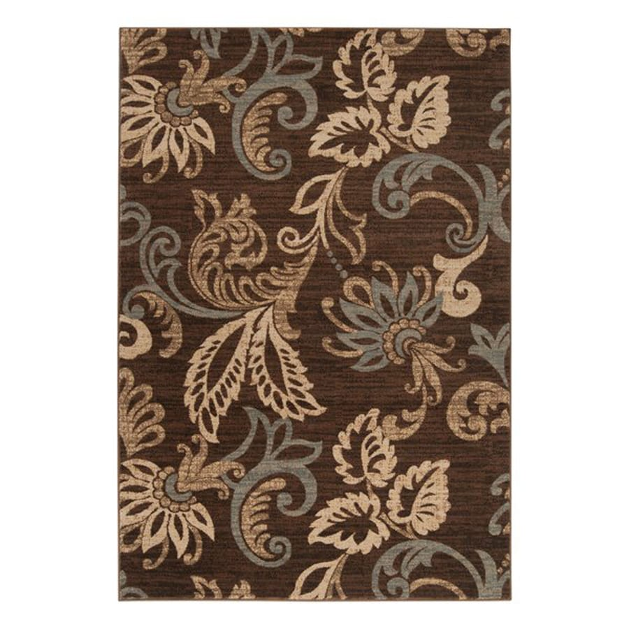 Surya Riley Rectangular Indoor Machine-Made Nature Area Rug (Common: 8 x 11; Actual: 94-in W x 130-in L)