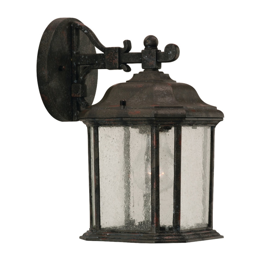 Sea Gull Lighting Kent 11.25-in H Oxford Bronze Outdoor Wall Light