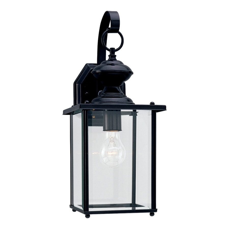 Sea Gull Lighting Products: Shop Sea Gull Lighting Jamestowne 17-in H Black Outdoor