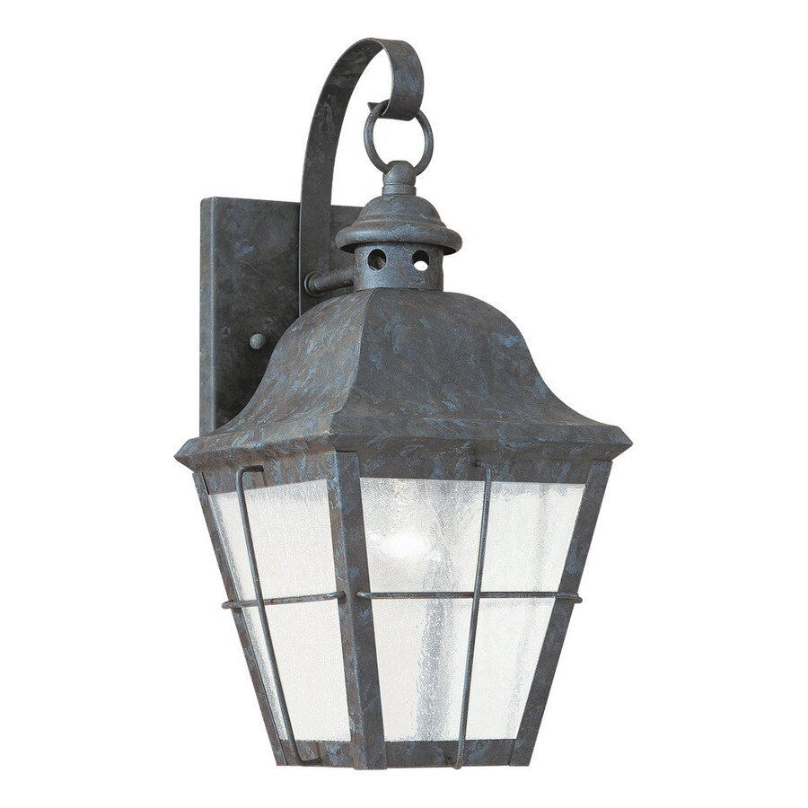 Sea Gull Lighting Chatham 14.5-in H Oxidized Bronze Outdoor Wall Light