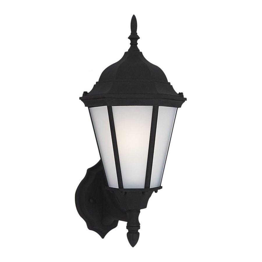Sea Gull Lighting Bakersville 17-in H Black Outdoor Wall Light ENERGY STAR